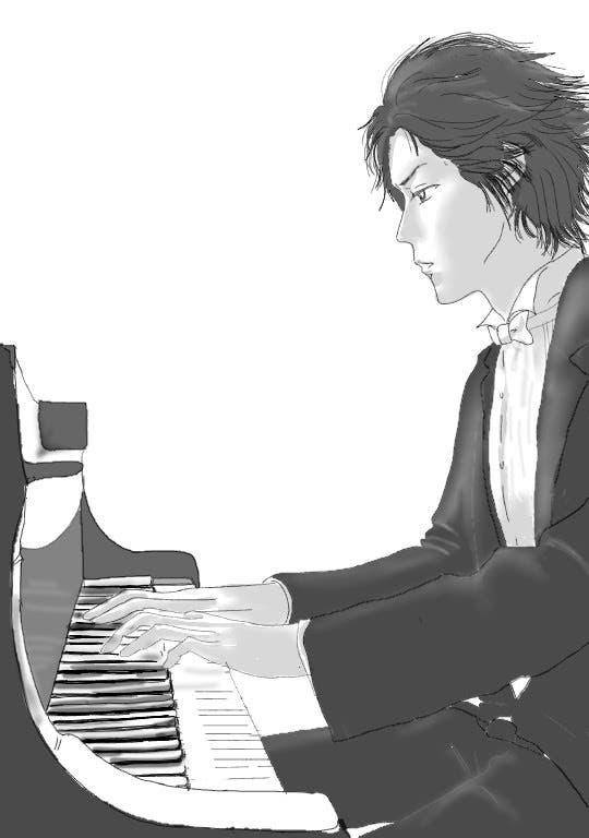 イラストフリーイラストピアノ男子佳乃こはる 小説投稿エブリスタ